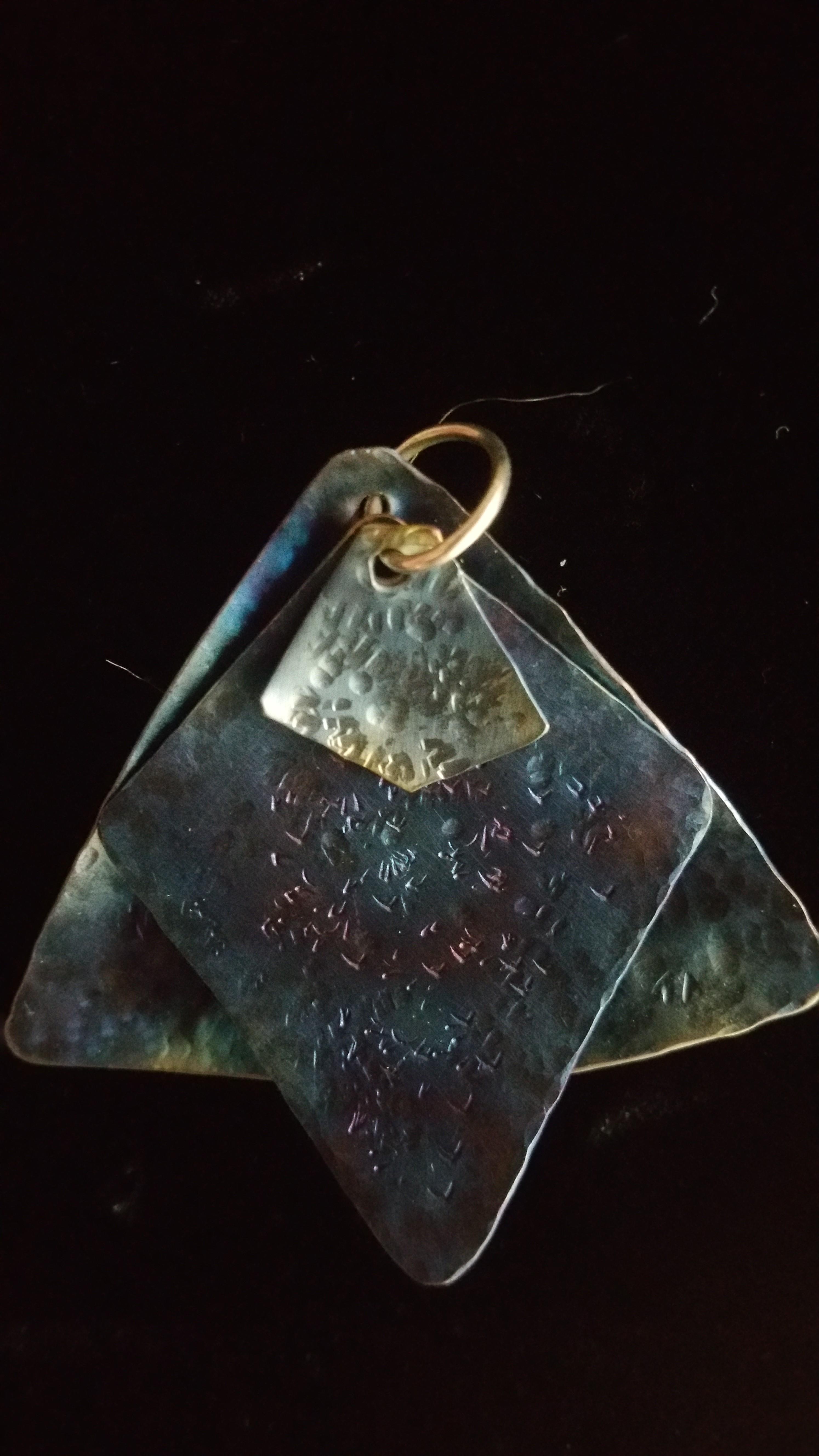 pure titanium pendant 3 piece 1